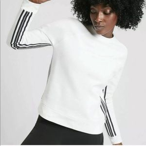 ATHLETA Side Stripe Sweatshirt
